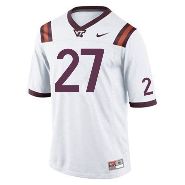 Men #27 Shawn Payne Virginia Tech Hokies College Football Jerseys Sale-Maroon
